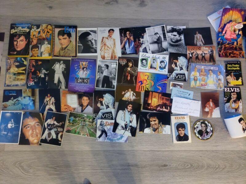 ELVIS - Lot of Elvis Memorabilia - Tshirts, postcards, mugs, and more!