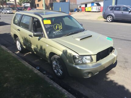 SUBARU FORESTER XT 2004 EJ25 TURBO 5 SPEED MANUAL Revesby Bankstown Area Preview