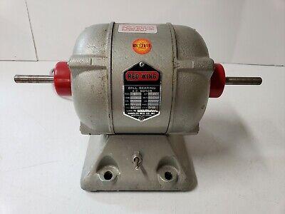 Red Wing Handler Model 27 Dental Laboratory Lathe For Restoration Polishing