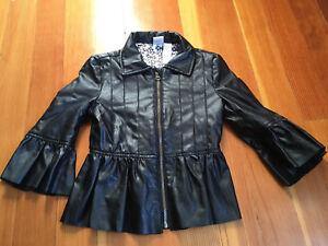 Black jacket size 6-8