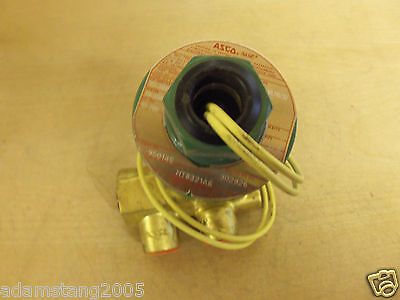 Neu Asco Rot Hut HT8321A6 Magnetventil 10-200 Psi 120V 3/8