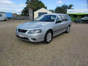 2008 Ford BF MKII Wagon Hermit Park Townsville City Preview