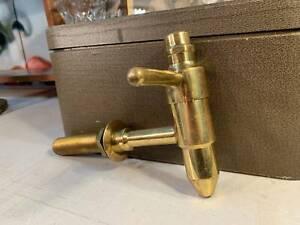 Vintage Australian Brass Pub Man Cave Beer Pouring Tap 24cm