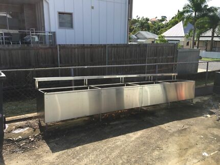 Stainless steel bench Kelvin Grove Brisbane North West Preview