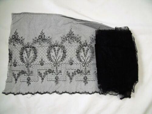 Beautiful Black Lace Netting