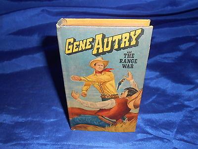 Gene Autry & The Range War Whitman #714-10 New Better Little Book 1950 VF