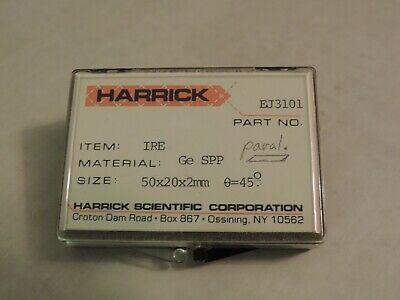 Harrick Germanium Atr Crystal 50 Mm X 20 Mm X 2 Mm Ppl 45 Degree