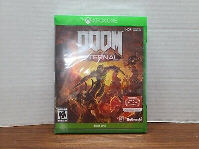 DOOM ETERNAL (Xbox One, 2020) Factory Sealed!