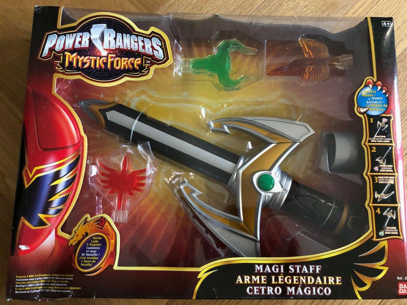 Bandai Magiranger Power Rangers Mystic Force Strick Phone morpher Gashapon Set 5