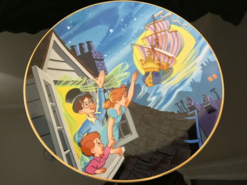 Peter Pan Plate ~ Limited Disney Collectible Vintage 88 of 24,750 Circa 1980s