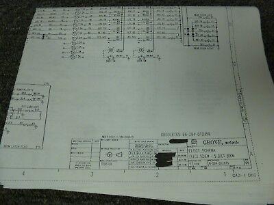 Grove Tts870b Telescopic Boom Crane Electrical Wiring Diagram Schematic Manual