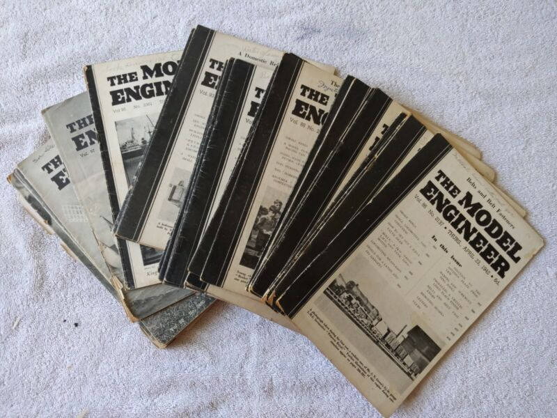 The Model Engineer Magazine 1942-1949 / 33 Total Issues