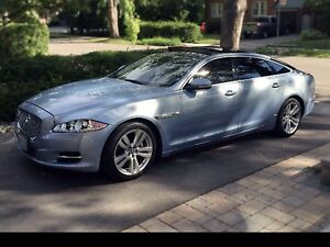 2011 Jaguar XJL 5.0 Metallic blue 95000km No accident Clean