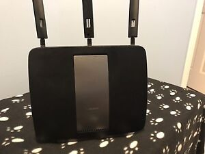 Linksys wifi router.