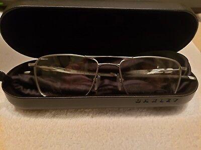 43dd6dea50a Oakley OX5127-0353 Eyeglass frames Silver Titanium Gauge5.2 Truss 53 17 142  New