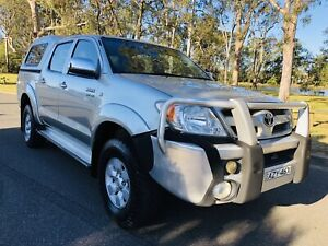 2006 Toyota Hilux SR5 Utility 4x4 Manual Dual Cab Canopy Silver Moorebank Liverpool Area Preview