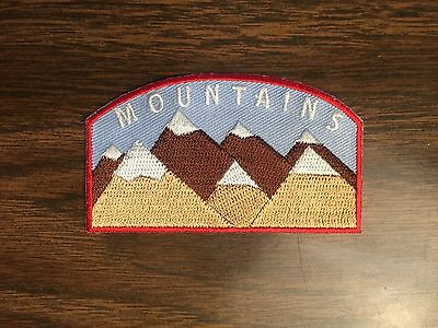 Moonrise Kingdom Iron on Khaki Scout Patch, Wes Anderson
