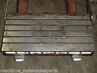 31 X 16 Steel T-slotted Table Jig Layout Fixture Weld Welding Plate Cast Iron