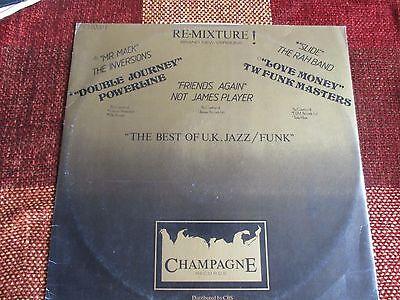 Re-mixture Best of UK jazz funk lp EX Champagne Rah Band Inversions