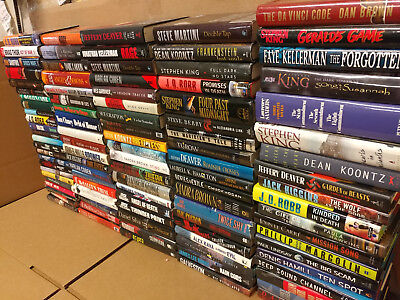 Lot of 10 Mystery Suspense Thriller Crime Murder Detective Hardcover HB MIX Book