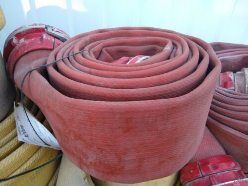 """Used 5"""" Red Fire Hose 10"""