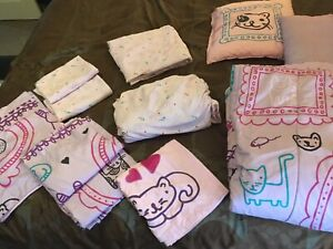 DOUBLE SIZE CAT BEDDING SET