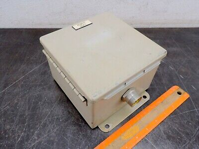 Hoffman Electrical Enclosure Electric Box 6x6x4 Panel Box Type 1213 A-606ch