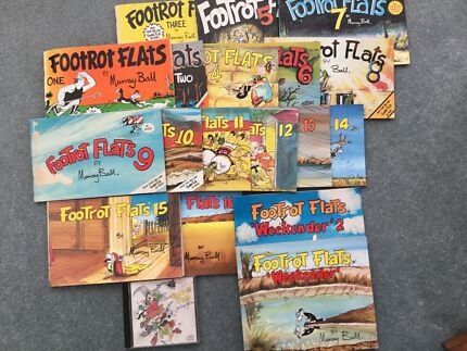 Footrot Flats books series 1 to 16 plus bonus