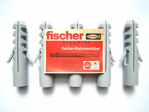 fischer d bel s20 mauerd bel bohrloch 20 mm f r schraube 16 mm 2 st ck ebay. Black Bedroom Furniture Sets. Home Design Ideas
