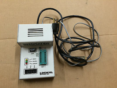 Shooter Prompro Bylogical Devices Eprom Programmer Eeprom Rs-232 Serial Db-25
