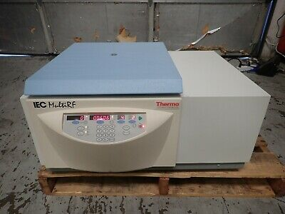 Thermo Electron Model 120 Iec Multi Rf Refrigerated Centrifuge With Rotor 8683