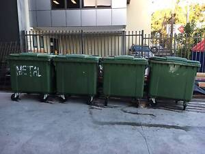 1100 Ltr SULO Flat Lid Wheelie Bins (Used) - For Sale Condell Park Bankstown Area Preview