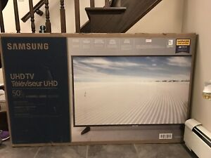 "SAMSUNG - BRAND NEW 50"" 4K  UHD HDR LED Tizen Smart TV"