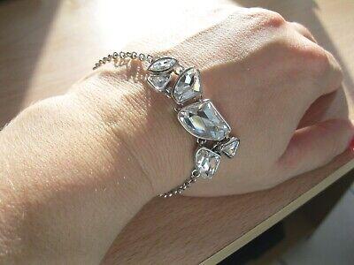 Illume Multi Swarovski Crystal Bracelet Brand New in Organza Bag