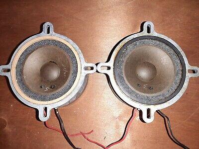 Wharfedale vintage Super 3 Speaker Tweeter Drivers Pair.
