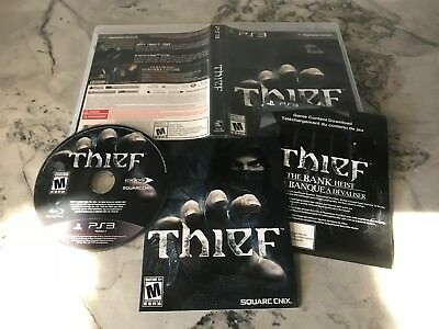 THIEF - PLAYSTATION 3 - VIDEO GAME - SQUARE ENIX / EIDOS - PS3 - STEALTH