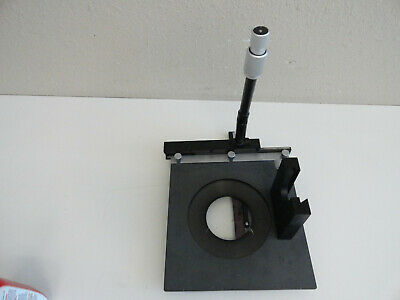 Ss3 Large Nikon X-y Mechanical Stage For Diaphot Microscope