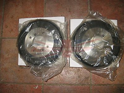 New Pair of MGA Brake Drums 1955 1962 Fits Rear All and Front with Steel Wheels