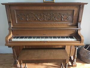 Piano Wormwith and co à donner