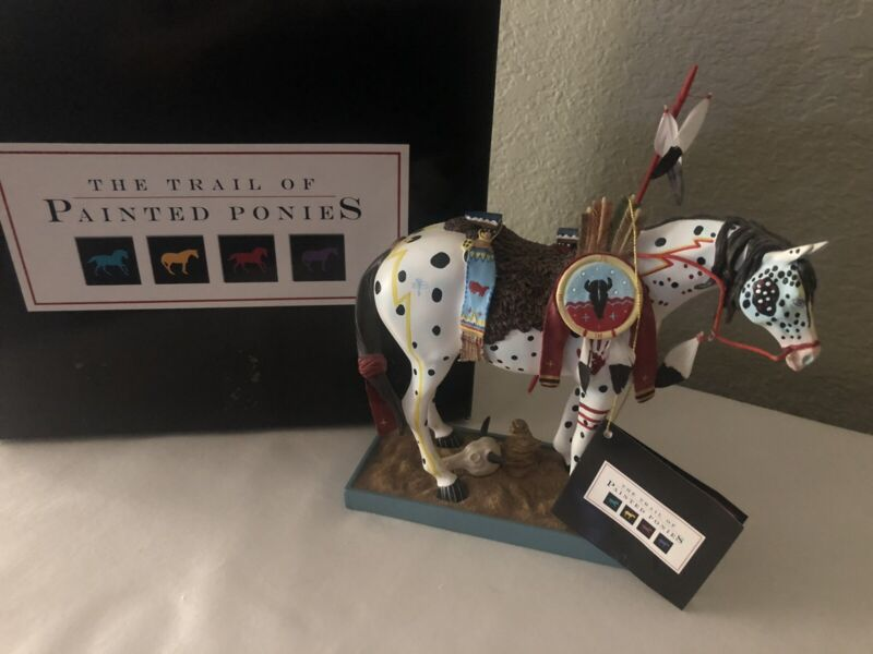 WAR PONY -The Trail of Painted Ponies-1E/8438 - 1452 Retired  w/  BOX & FOAM