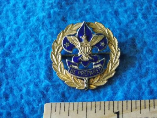 Vintage - Boy Scout Council COMMISSIONER Collar Pin