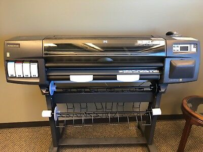 Hp Designjet 1050c Plus Inkjet Printerplotter - Used - Local Pickup Only