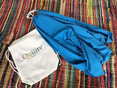 Quility Indoor Outdoor Therapy Swing for Kids Special Needs Lycra Snuggle Swing