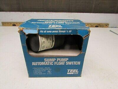 Teel 2p313 Pumpmaster Sump Pump Automatic Float Switch 115v Nib Make Offer