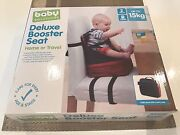 Baby Solutions Deluxe Booster Seat - Home or Travel (never used) Sydenham Brimbank Area Preview