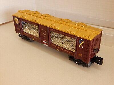 Lionel 6-29638  Fort Knox Mint Car Depository Bullion Transport w/Gold Load New Lionel Car Transporter