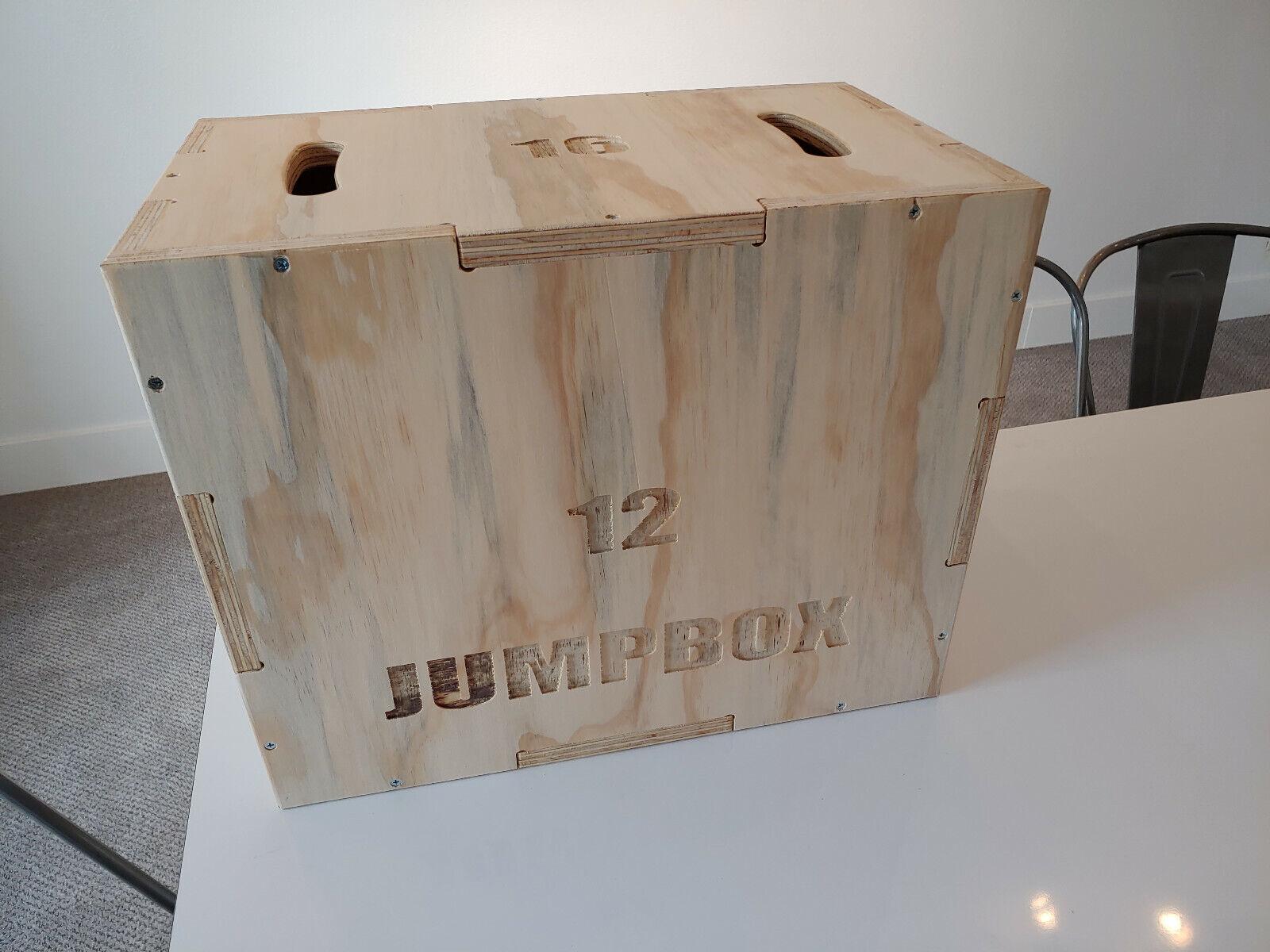 Plyo Box 12x16x20 - Plyometric Box - Crossfit - MMA Training
