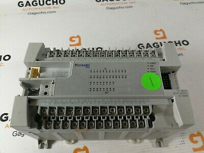 Allen Bradley 1762-l40bwa Ser C Frn 11 Micrologix 1200 Controller Processor