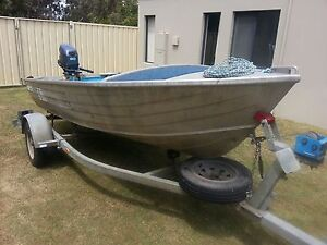 3.8mtr Stacer Tinnie NEW Yamaha motor and Trailer + free extras Halls Head Mandurah Area Preview
