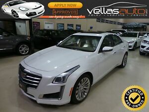 2016 Cadillac CTS AWD| LUXURY COLLECTION| NAVI| HUD| RCAMERA|